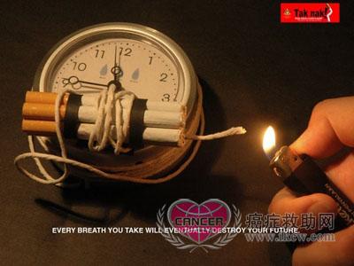 国际戒烟公益广告精选